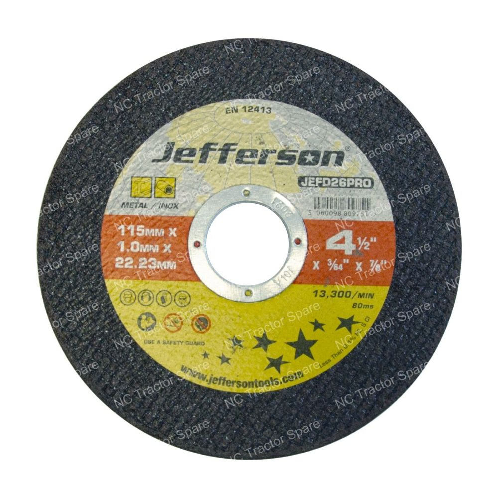 "14"" Metal Cutting Abrasive Disc 25.4mm Bore"